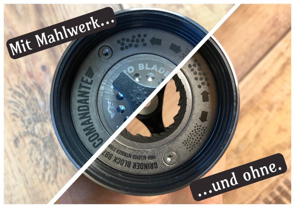 Comandante C40 MK3 Nitro Blade im Test - Kegelmahlwerk - Kaffeemühle - Handmühle - kaffeegenie.de