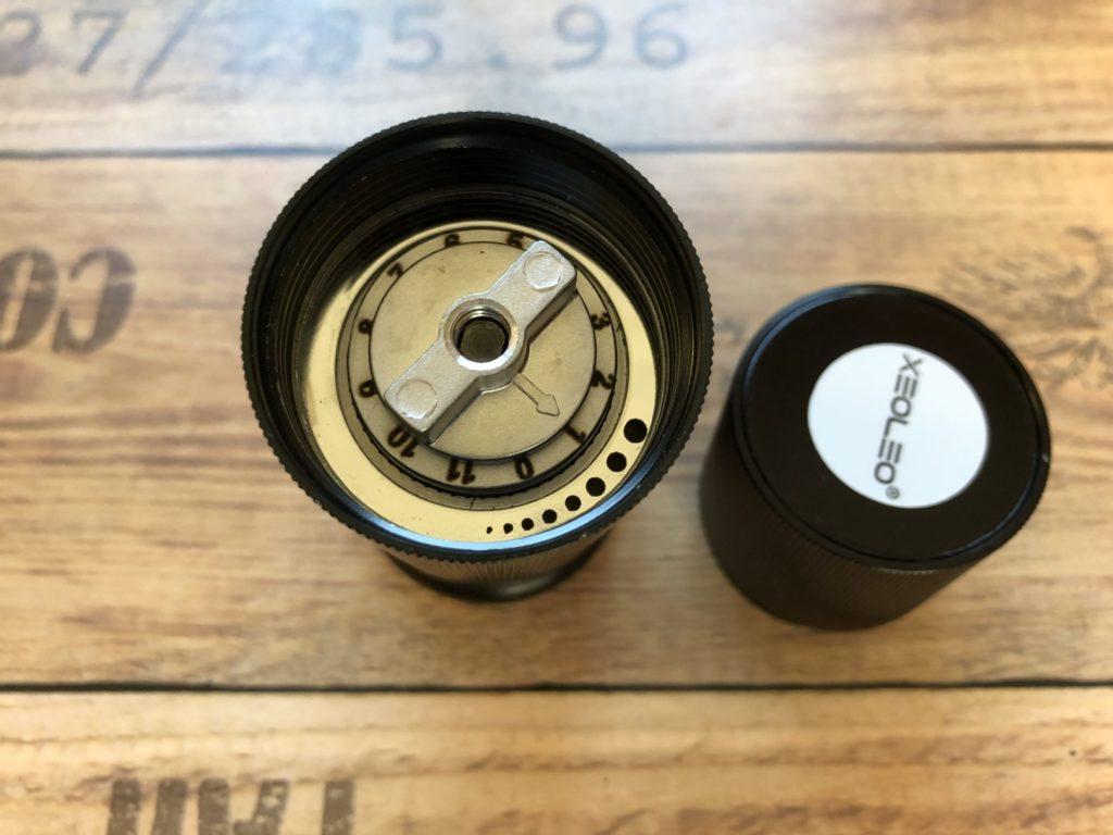 Xeoleo Handmühle - Kaffeemühle - getestet - Erfahrungsbericht - Test - Kaffeebohnen Handkurbel - 45mm Variante